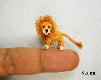e01c92dbf10b Miniature Crochet Animals Tiny Dolls Amigurumi Toys by SuAmi