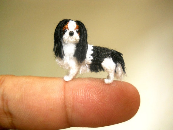 KING CHARLES Dollhouse Picture FAST DELIVERY MADE IN AMERICA Miniature Art