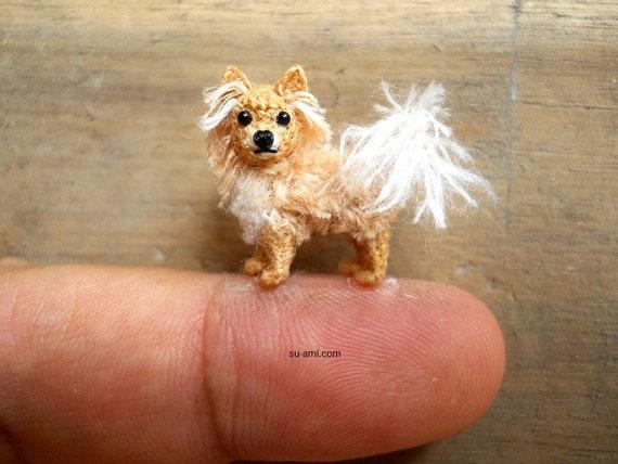 Lange Haare Chihuahua Hund Amigurumi Häkeln Kleinen Hund Etsy