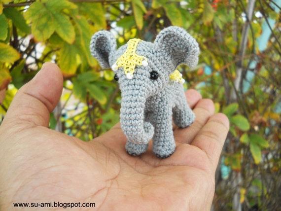 Zirkus Elefanten Miniatur Häkeln Elefant Mit Spitze Decke Massanfertigung