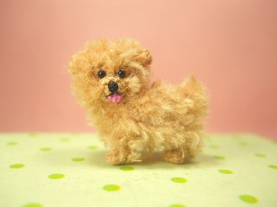 Maltese amigurumi puppy Dog kawaii Collectibles by gurumiorama2 ... | 428x570