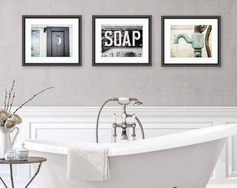Bathroom Art Etsy