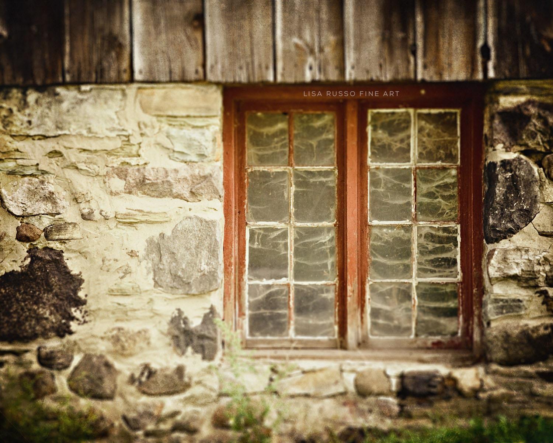Art Décor: Farmhouse Decor Barn Art Rustic Home Decor Grey Red