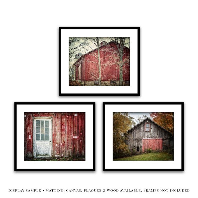 Red Barn Art Print Home Decor Wall Art Poster