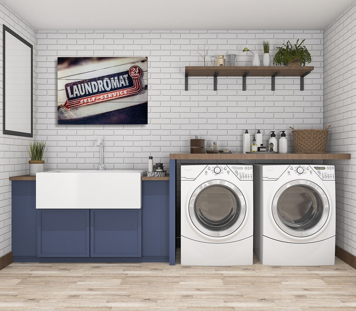 Laundry Room Decor Laundry Room Sign Wood Signs For Laundry Room Retro Laundromat Rustic Laundry Room Laundry Sign Wood Sign