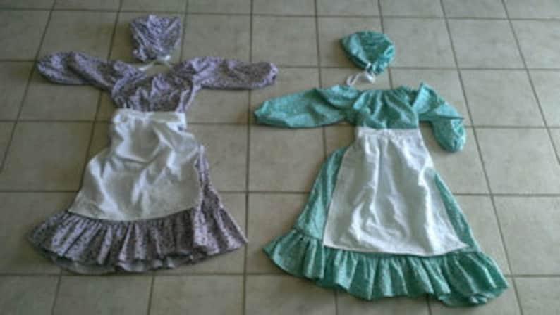 Little House on the Prairie Inspired Dress