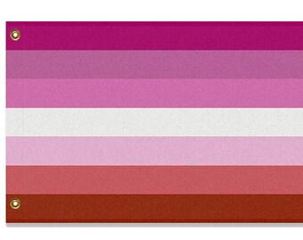 Lesbian Pride Flag, 3x2 or 5x3