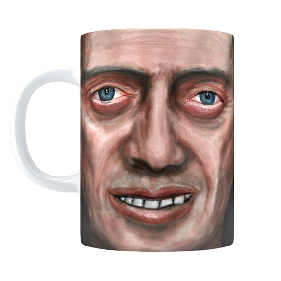 Buscemug 11oz 15oz Bedroom Eyes Buscemi Face Coffee Mug Etsy