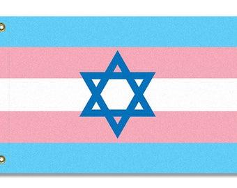 Jewish Transgender Pride Flag