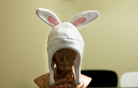 2b4e463ddae White Rabbit Baby Toddler Fleece Hat