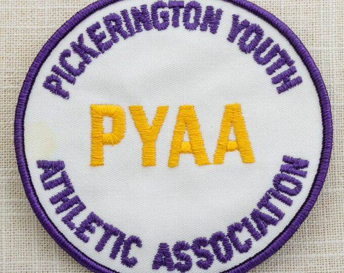 Pickerington PYAA Vintage Patch Unused Ohio Youth Athletic Association Panthers Tigers Sports 7A