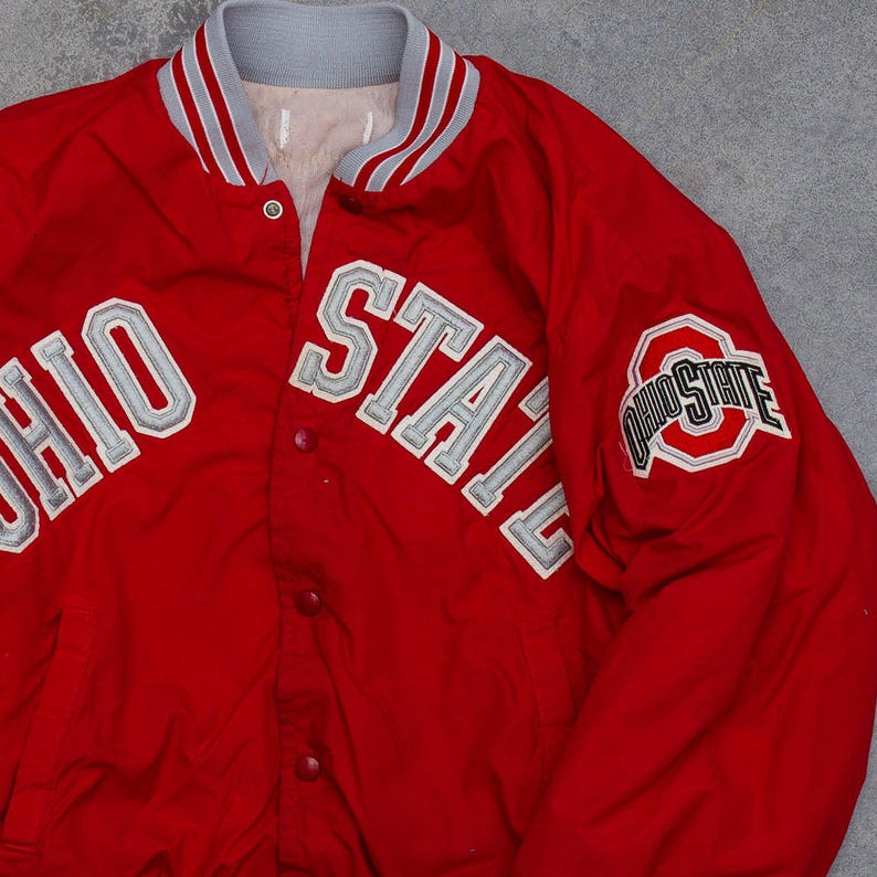 Vintage Ohio State Jacket OSU Football Columbus Ohio Buckeyes image 0