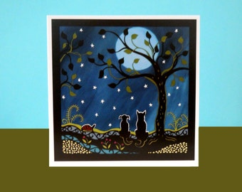 A moment in time  art card