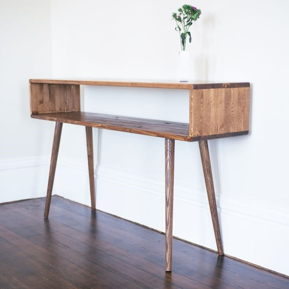 Mid Century Modern Entry Table Sofa Table