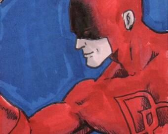 Classic Daredevil Sketch Card