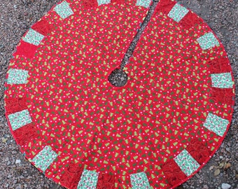 A Christmas Tree Masterpiece Quilts Christmas Tree Skirt