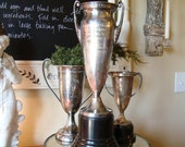 Hold for Tawny:  Huge Vintage Culinary Trophy Cup 1954