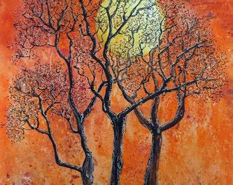 Autumn Fire - a limited edition print no 5/250 A3