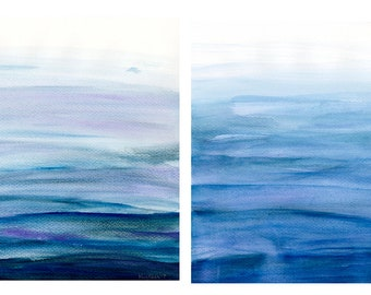 Water Studies - Set of 4