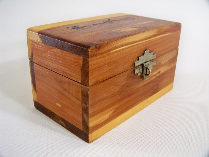 Cedar Wood Hope Chest Box with Lock and Key