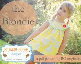 BG Originals The Blondie pdf pattern