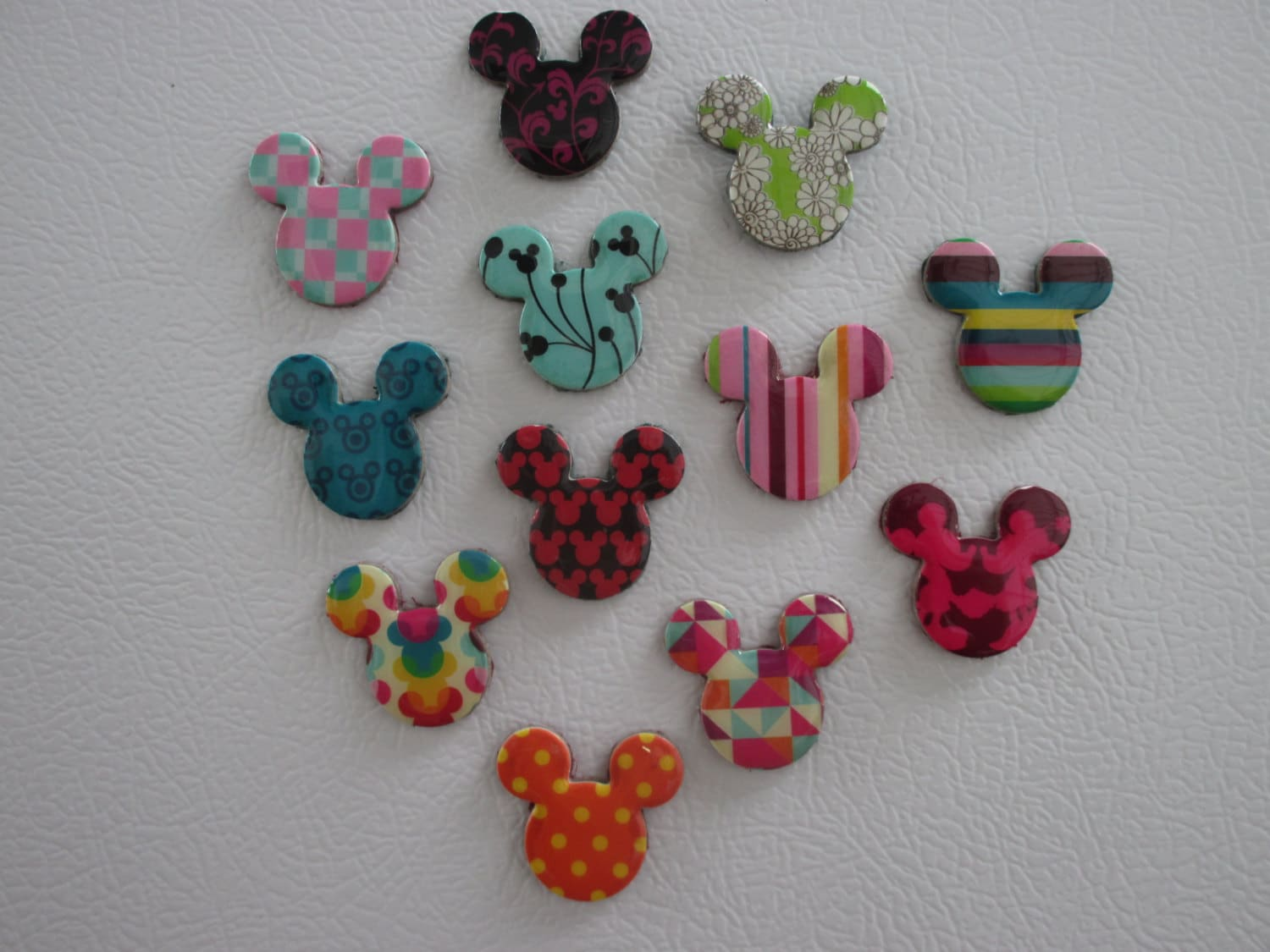 50 Mickey Mouse Magnets Perfect For Fish Extender Gifts Etsy