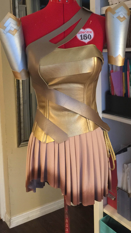 Adult wonder woman skirt-3409