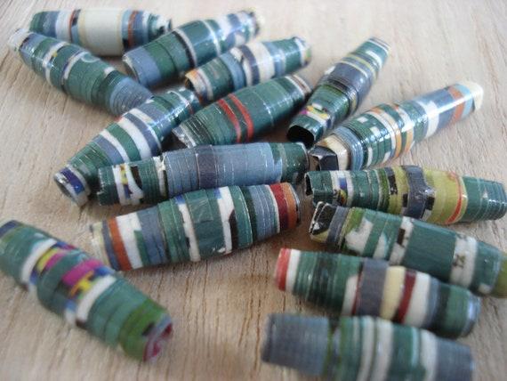 Cepacol - 15 Handmade Paper Beads