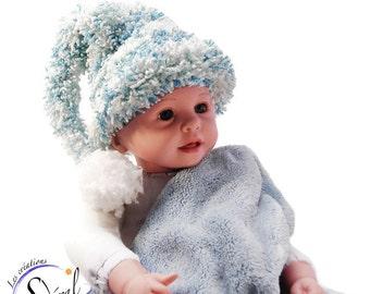 Bébé fille chapeau Elf Hat elfe bébé chapeau bébé Bonnet lutin chapeau  chapeau nouveau-né bébé ... 0b26a971be8