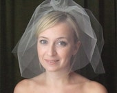 Birdcage wedding veil TA2025