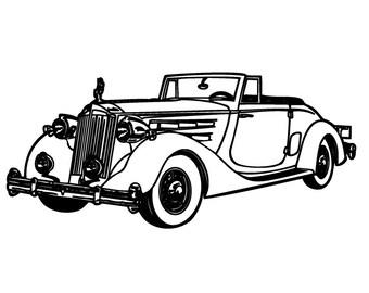 classic car st etsy 1940 Dodge Bus classic car flonz clear st clingy acrylic