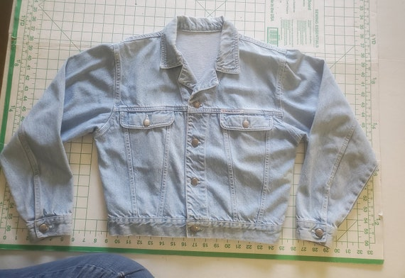 Pale Blue London London Jeans Jacket