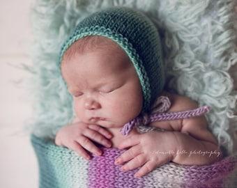 Ombre Wrap- newborn prop