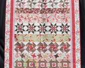 Flowers Grow Row by Row Queen Size Quilt