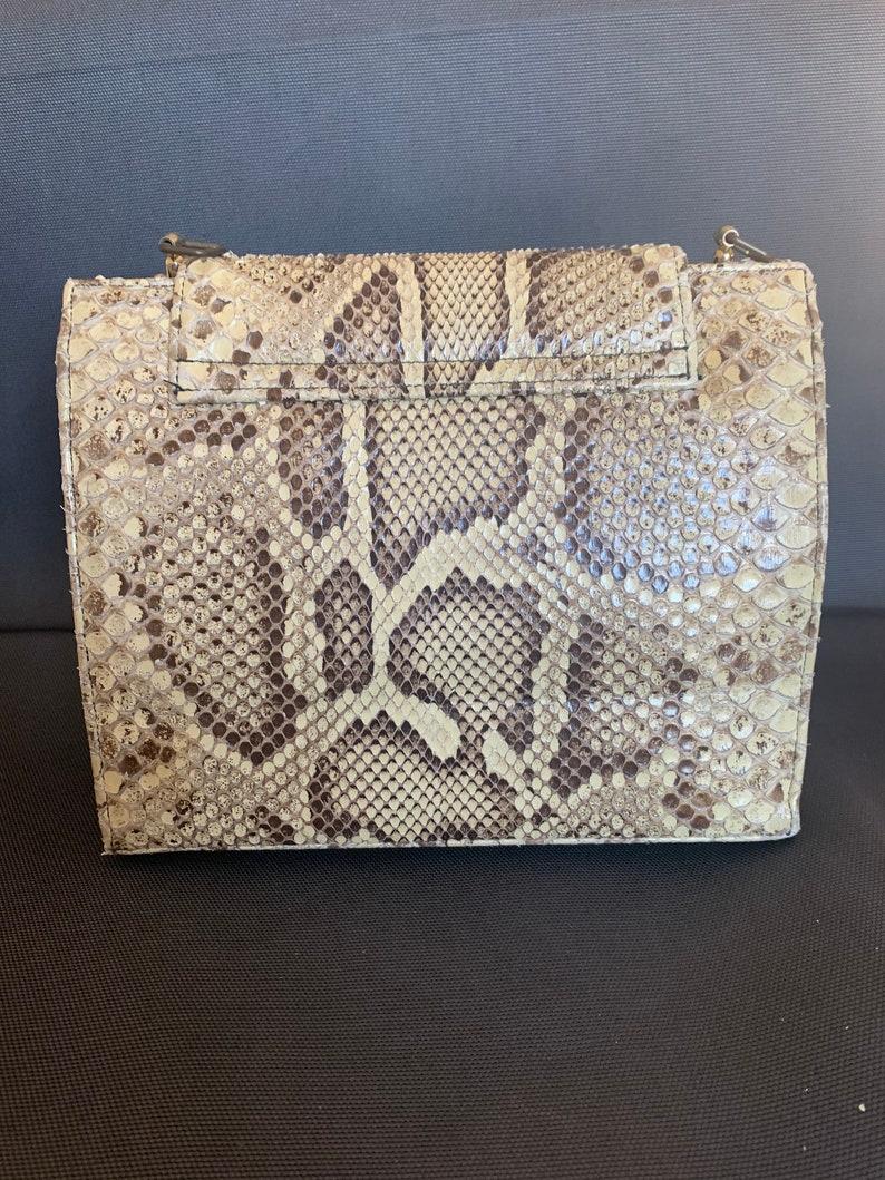 Vintage Real Snakeskin Purse