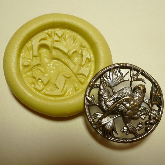 Victorian Grecian Goddess W// Dragonfly Poly Clay Mold
