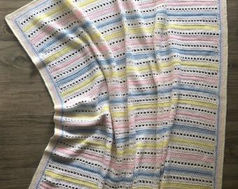 Carly Crochet Baby Blanket