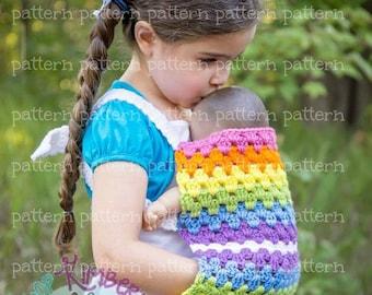 PATTERN Mini-Mom Babydoll Carrier Crochet PATTERN