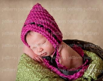 PATTERN Ridgeline Ribbon Pixie Crochet PATTERN