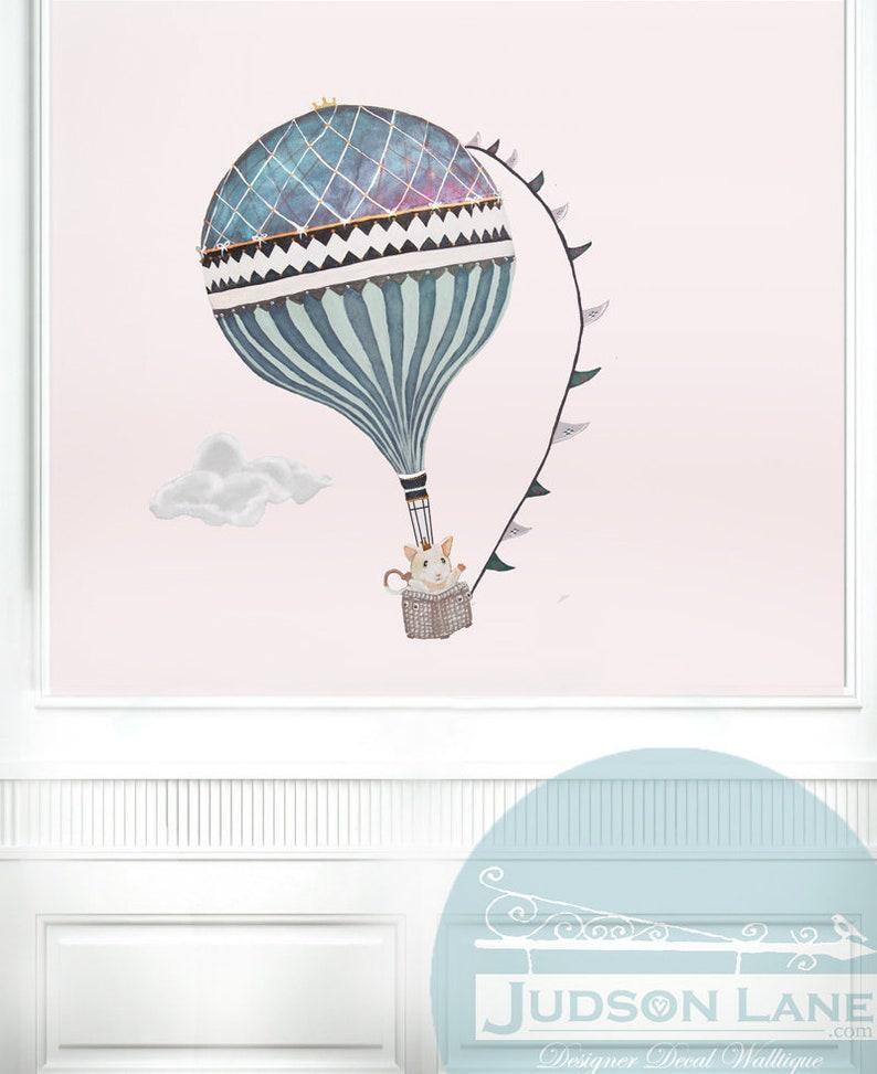XL Mouse & cloud Hot Air Balloon girl neutral boy Animal image 0