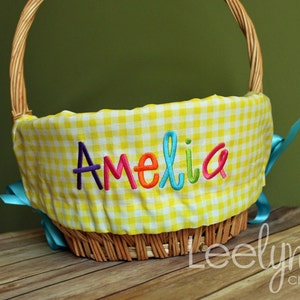 Rare 3D front Basket Rare green and pink basket spring basket Vintage Colorful Woven Basket Morethebuckles 1960\u2019s spring basket