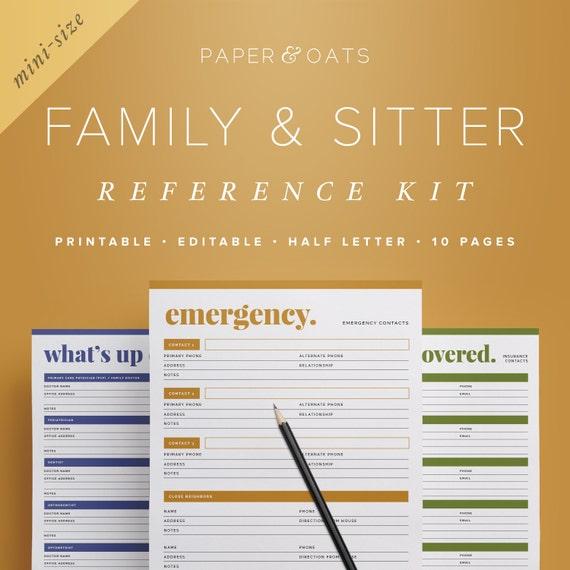 mom planner pdf family planner binder family home binder etsy