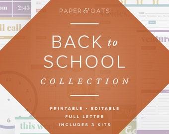 Teacher Planner Pack, Back to School Planners, Lesson Planning, Classroom Decor, Productivity Planner, Undated Planner, Teacher Appreciation