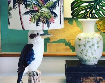 Kookaburra table lamp