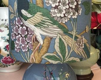 Spring flower table lamp