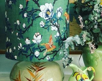 Vintage Italian magnolia table lamp