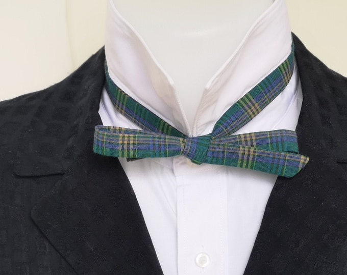 bowtie mens, extra slim style - freestyle, self tie for men / tailored to collar size