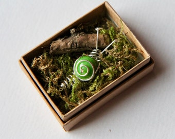 Snail in a box