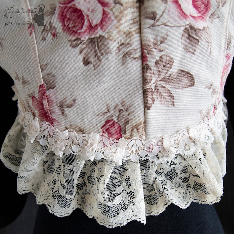 dress cover XS-S see item details and size chart steampunk Floral shrug Somnia Romantica size XS-S cottage chic victorian picnic