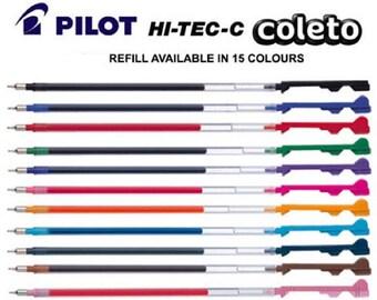 Pilot Hi-Tec-C Coleto Multi Pen gel pen refill, Hi tec c coleto pen